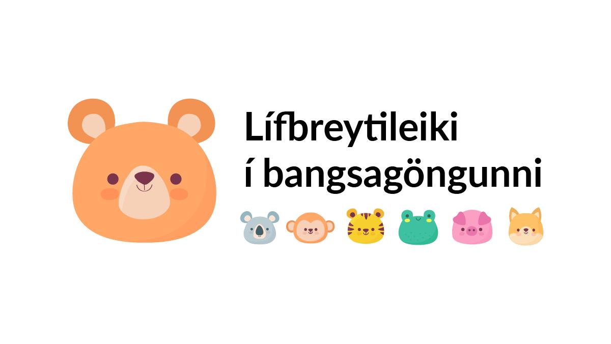 Lærðu um lífbreytileika í bangsagöngunni, landvernd.is