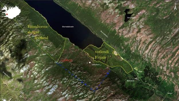 Fitjar eru einstakt votlendissvæði í Skorradal, landvernd.is