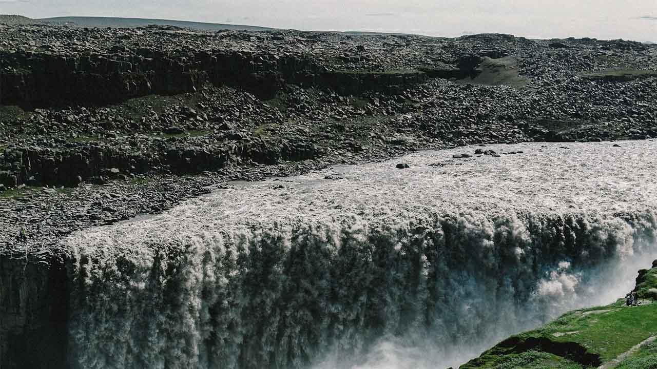Dettifoss er einn vatnsmesti foss Evrópu, landvernd.is