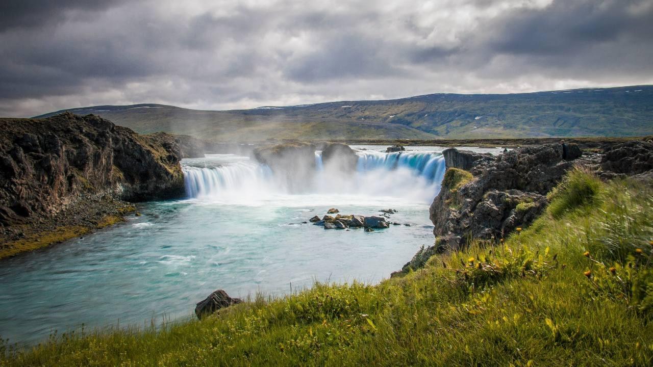 Goðafoss í Skjálfandafljóti var friðlýstur á dögunum, landvernd.is