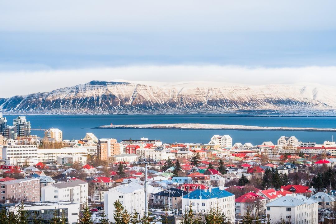 Horft yfir Reykjavík á vetrardegi, náttúran á höfuðborgarsvæðinu er ekki minna virði en önnur náttúra.