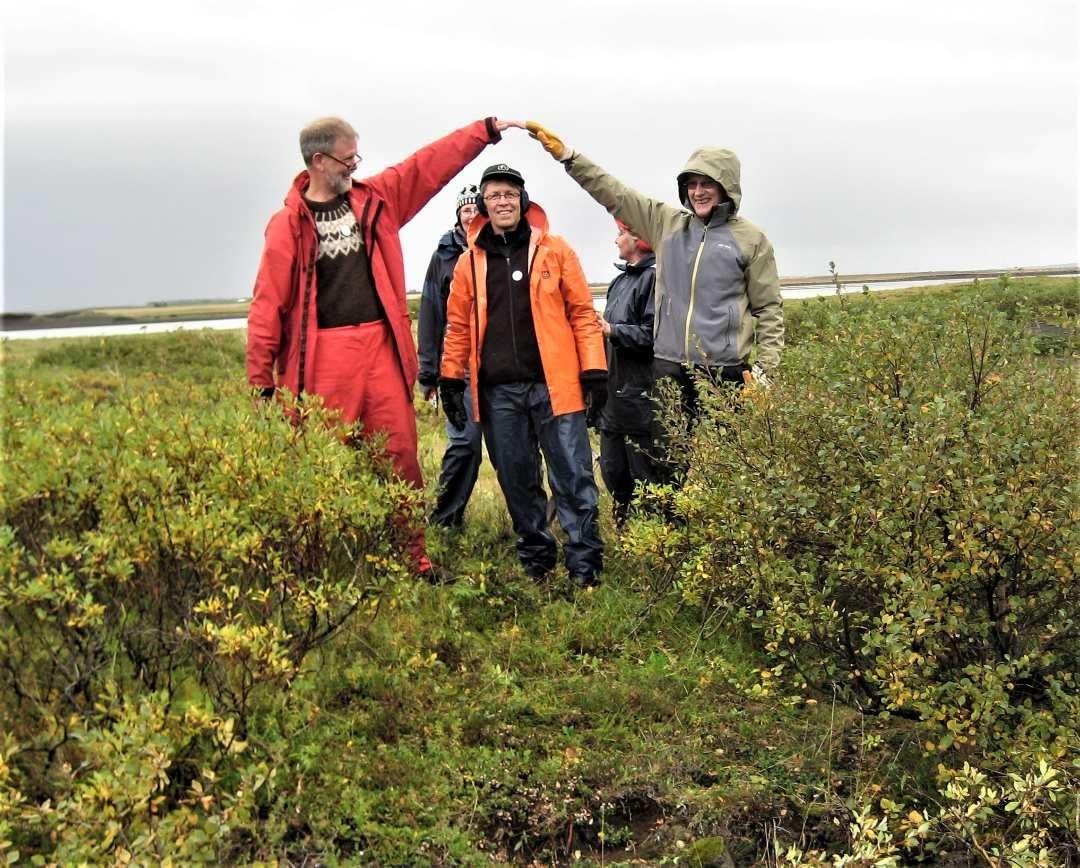 Þorvaldur Örn Árnason auk 4 annarra í Öndverðanesi í Alviðru 2013