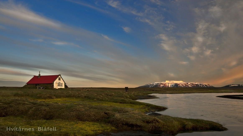 Hvítá er þriðja lengsta á Íslands og rennur hún úr Hvítárvatni og óhindrað til sjávar.