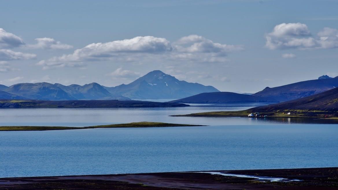 Langisjór er á vatnasviði Skaftár