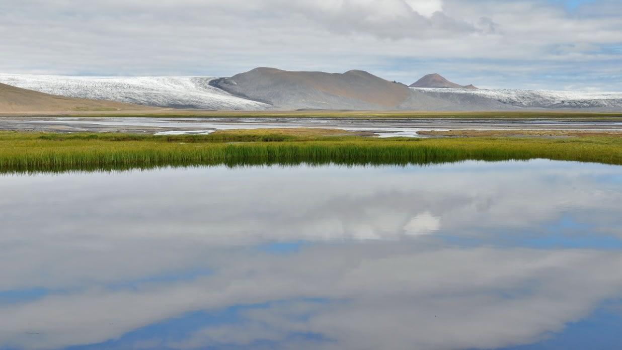 Þjórsárver og Hofsjökull