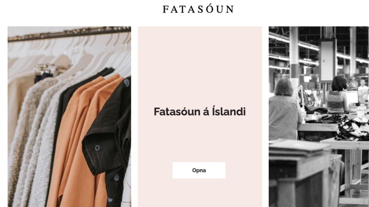 vefsíðan fatasóun á Íslandi, landvernd.is