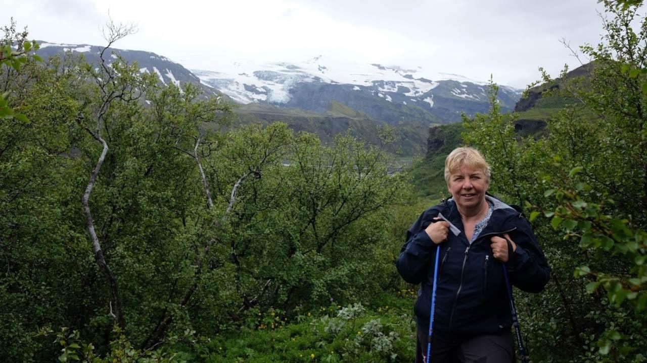 Hjördís Björk Ásgeirsdóttir er fræðslufulltrúi Alviðru, fræðsluseturs Landverndar í Alviðru í Ölfusi.