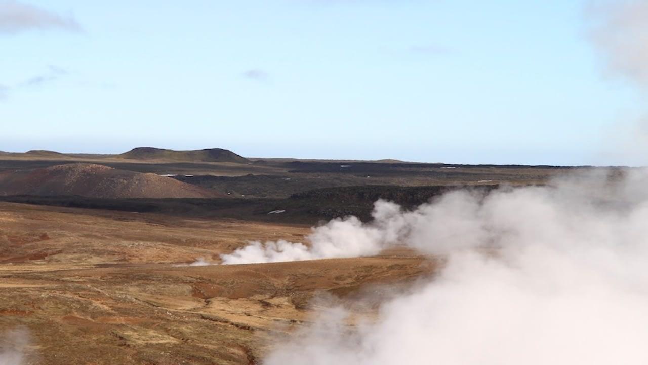 Sandfell er í Krýsuvík