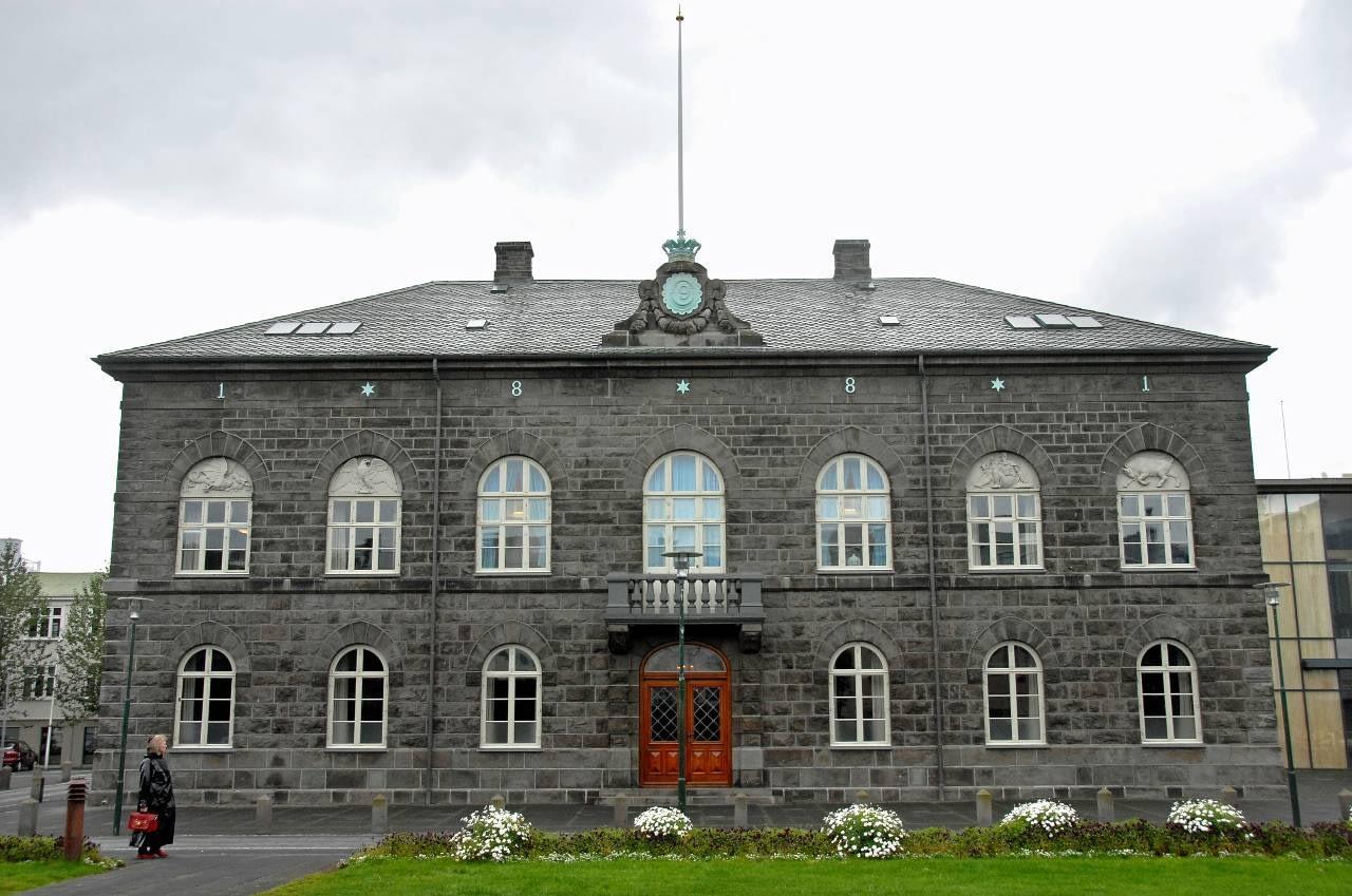 Alþingi Íslands, landvernd