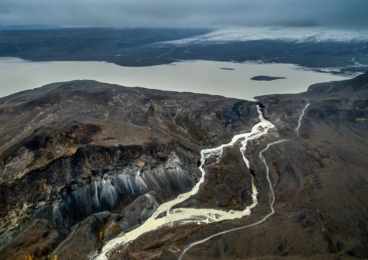 Hagavatn við Langjökul. Einstakt svæði sem er ennþá í hættu vegna fyrirhugaðra virkjanaframkvæmda í hjarta landsins, landvernd.is