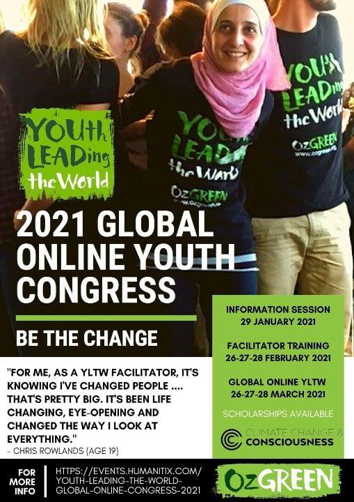YOUth LEADing the world - leiðtoganámskeið 2021