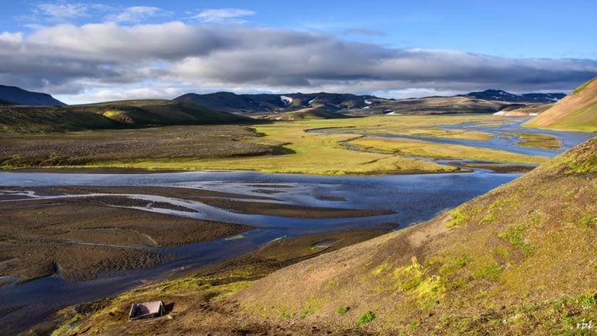 Blautakvísl er jarðhitasvæði í vestanverðri Torfajökulsöskjunni.