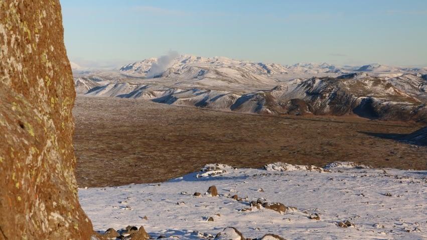 Gráuhnúkar eru móbergshryggir á suðurhluta Hengilssvæðisins