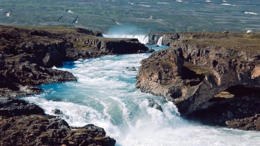 Hrafnabjargarfoss í Skjálfandafljóti