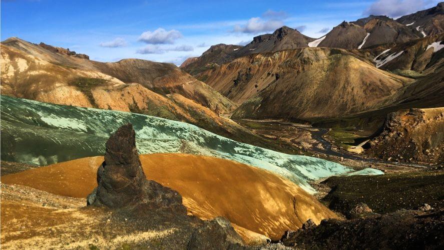 Grænihryggur á Fjallabaksleið, Landmannalaugar, landvernd
