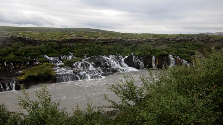 Hvítá í Borgarfirði sem á upptök sín í Langjökli og Eiríksjökli. Hvítá í Borgarfirði er enn óvirkjað vatnsfall.