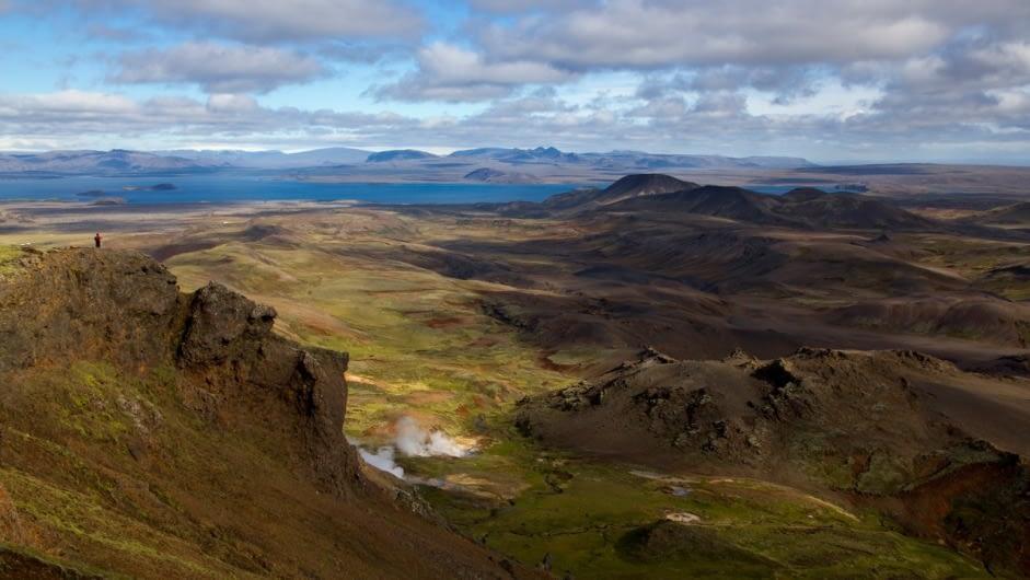 Þverárdalur í Henglinum