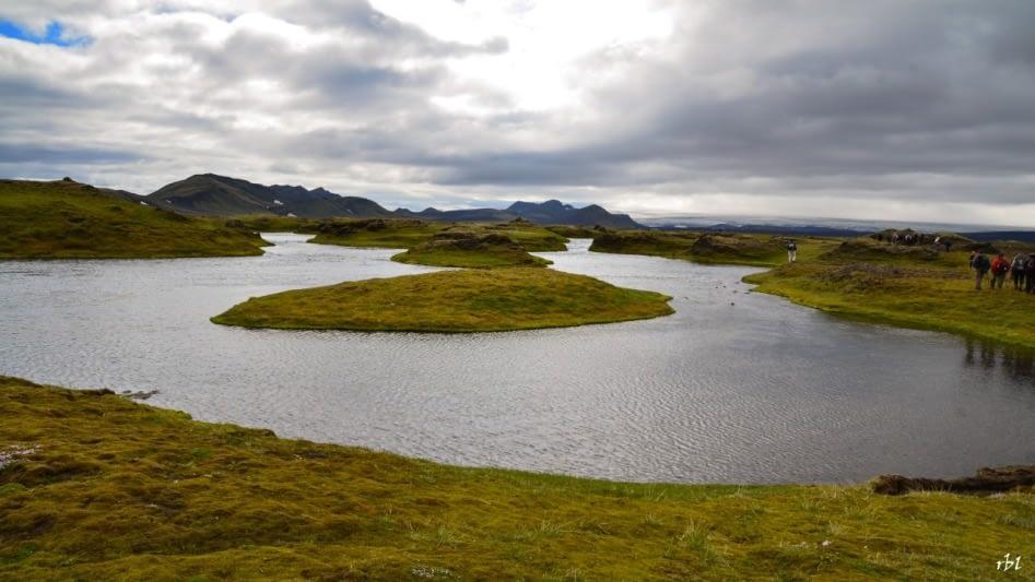 Vatnasvið Hólmsár er hluti merkilegra landslagsheilda og lítt snortinna víðerna sem tengjast verðmætum svæðum á suðurhluta miðhálendissins.