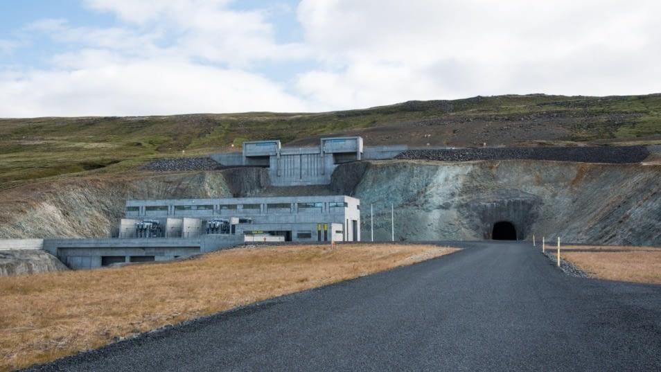 Búðarhálsvirkjun í Tungnaá